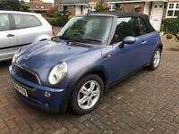 Mini one convertible 2004 *power roof not working* hence cheap price!