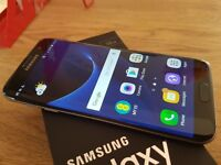 Samsung S7 Edge in Black Onyx -and Unlocked
