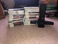 Xbox 360 and 31 games (collection only)
