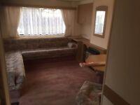 Luxury static caravan 2 bedroom for rent