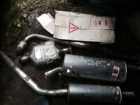 vauxhall astra estate exhaust with catalytic converter 1984