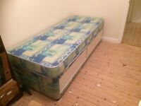 "Small Single 2' 6"" Divan Bed"