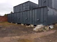 40 ft Storage Containers in Secure Yard