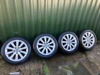 17in Audi VW alloys 5x112