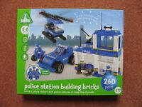 Police Station Building Bricks BNIB (ELC version of Lego)