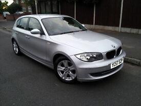 2007 BMW 1 Series 118D SE Efficient Dynamics AUTO START/STOP, £30 TAX, FULL LEATHER, FSH, 70MPG, 5DR
