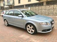 2006 Audi A4 avant s line tdi 2.0 diesel 7 speed automatic service history 140 bhp