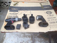 18 v cordless drill and torch