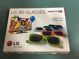 LG TV 3D glasses