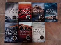 Complete Game of Thrones Books - A Song of Ice and Fire by George R. R. Martin