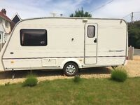 2 berth caravan - Bailey Pageant Monarch 2002 with full dormer porch awning, excellent condition,