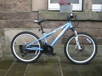 "Girls 24"" wheel mountain bike"