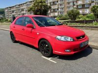 2005 (55) Chevrolet Lacetti 1.8 Sport 5dr Hatchback Red