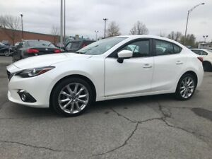 2015 Mazda Mazda3 GT 2.5L NAVIGATION MAGS 18 INCH TOIT OUVRANT