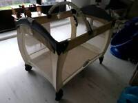 Graco Contour Electra Travel Cot and Brand New Folding Matress