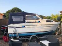 Hardy seawings 194 open sports boat .. 50hp..trailer..