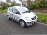 MERCEDES A-CLASS ,1.4 ,VERY LOW MILES