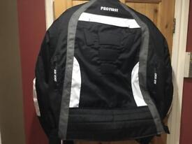 Motorbike jacket 3XL with amour