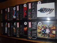 MARVEL Graphic Novels NEW and SEALED (X8)