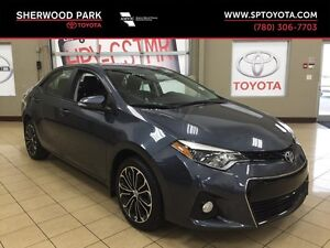 2016 Toyota Corolla S w/Upgrade Package!