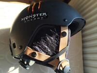 Ski/snowboard helmet,goggles,trousers and jacket