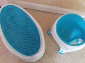 Angelcare baby bath seats 0-6m and 6-12m