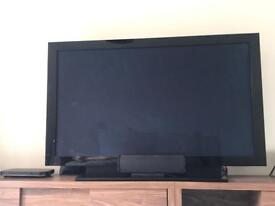 Pioneer KURO 60 inch Plasma Black TV and Stand. Paid over £4000 New