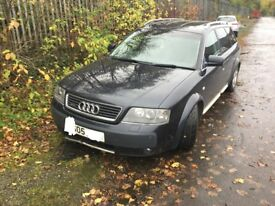 AUDI ALLROAD 2.5 TDI BREAKING FOR PARTS