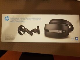 Gaming Virtual Reality Headset Mixed Reality HP HEADSET VR1000-100 BRAND NEW SEALED BOX!