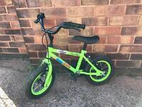 Apollo Marvin the Monkey Halfords Children's kids bike bicycle 12 inch wheels