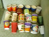 20 ASSORTED PRE-OWNED MUGS In clean condition