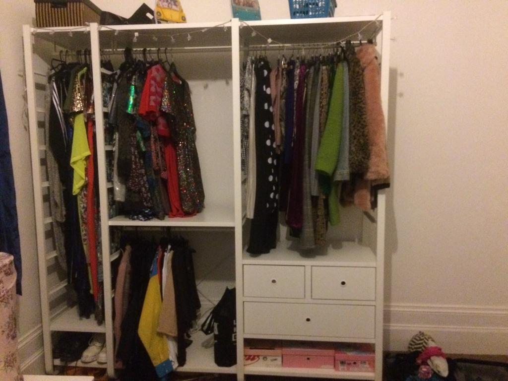 Ikea 3 Section Elvarli Wardrobe Rrp In Tunbridge Wells