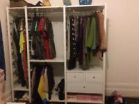 Ikea 3 section Elvarli Wardrobe RRP