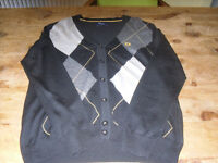 MENS XL FRED PERRY CARDIGAN