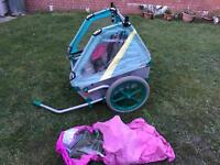 Toddle bike trailer / carrier