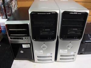 Grande variété d'ordinateurs de bureau