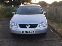 2006 VOLKSWAGEN TOURAN 1.6 FSI MPV PETROL MANUAL 81,000 MILES ONLY