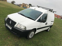 2007 Citroen Dispatch Diesel with *Genuine 18,000 miles From NEW* Service History - 3 way loaded P/X