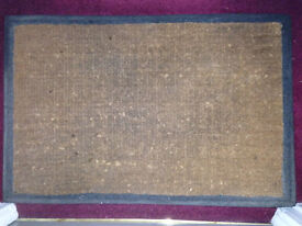 John Lewis Chunky/Heavy Duty Doormat (good condition) JUST REDUCED