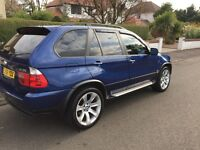 BMW X5 3.0d LE Mans sport edition semi auto ~ 1 year mot ~ FSH ~ £7500 Ono ~ px welcome