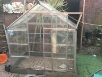 Perspex greenhouse