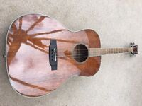 LOVELY HEARTWOOD TENOR GUITAR & CASE - MINT CONDITION