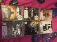 PS3 160gb 7 games 1 controller