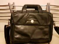 Dell laptop leather bag