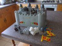 Part castle bricks good condition