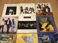 """21 Vinyl LPs Albums Various Artists with Some 12"""" Singles"""