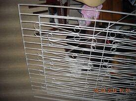 Decorative steel sheeting