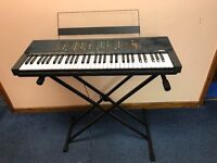 Vintage 1985 Yamaha PSR-70 Keyboard with Stand!