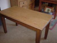 Oak Table/Desk