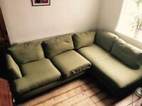 Green Corner Sofa DFS